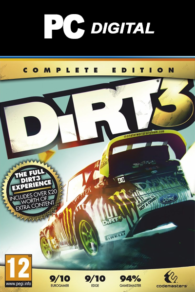Dirt 3 (Complete Edition) PC codemasters