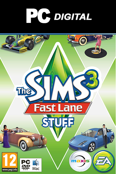The Sims 3: Fast Lane Stuff PC DLC EA
