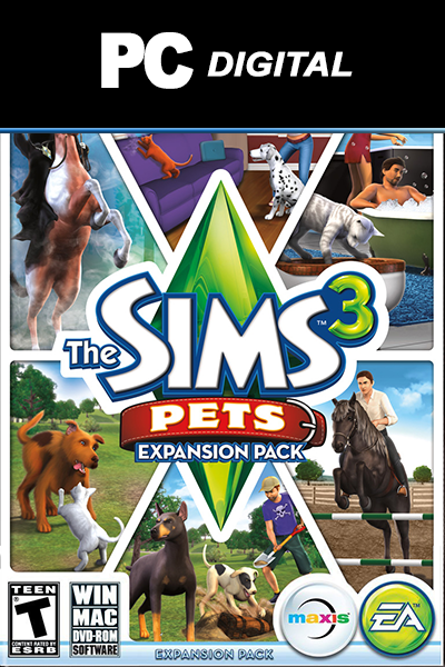 The Sims 3: Pets PC DLC EA