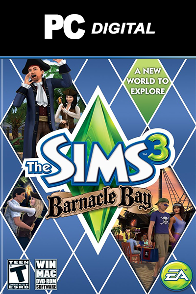 The Sims 3: Barnacle Bay PC DLC EA