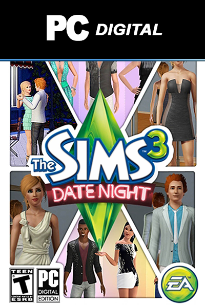 The Sims 3: Date Night PC DLC EA