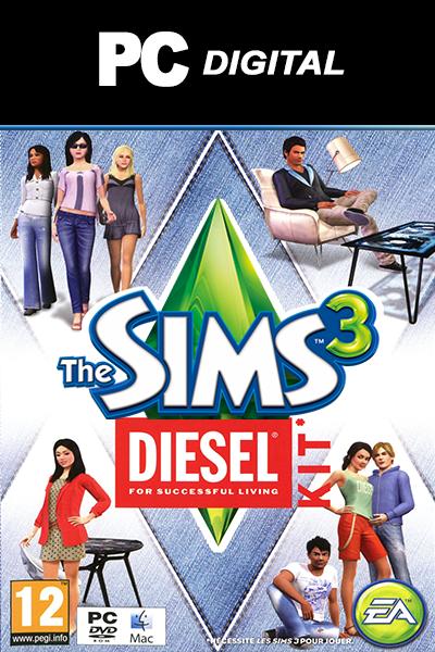 The Sims 3: Diesel PC DLC EA