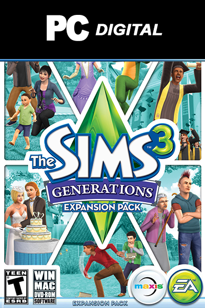 The Sims 3: Generations PC DLC EA