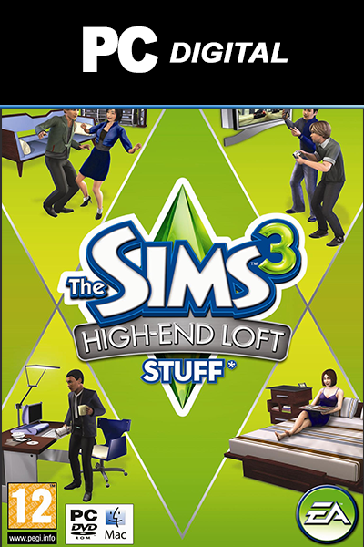 The Sims 3: High and Loft Stuff PC DLC EA