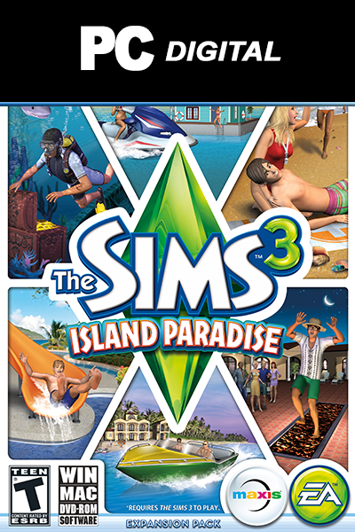 The Sims 3: Island Paradise PC DLC EA