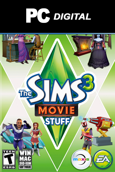 The Sims 3 - Movie Stuff PC DLC EA