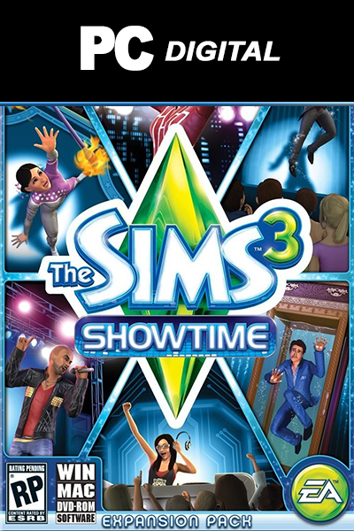 The Sims 3: Showtime PC DLC EA