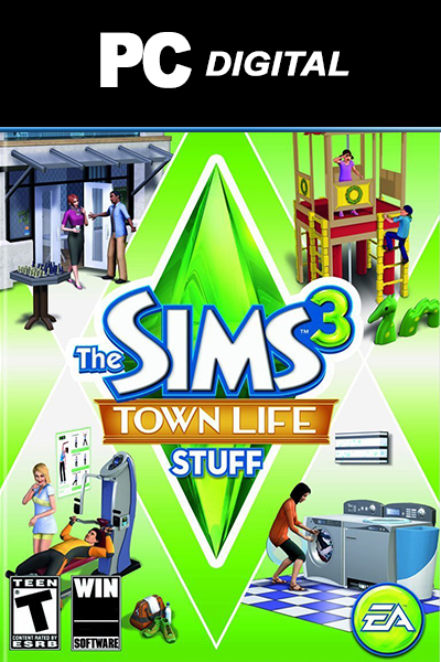 The Sims 3: Town Life Stuff PC DLC EA