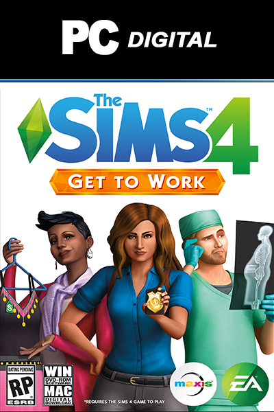 The Sims 4: Get to Work PC DLC EA