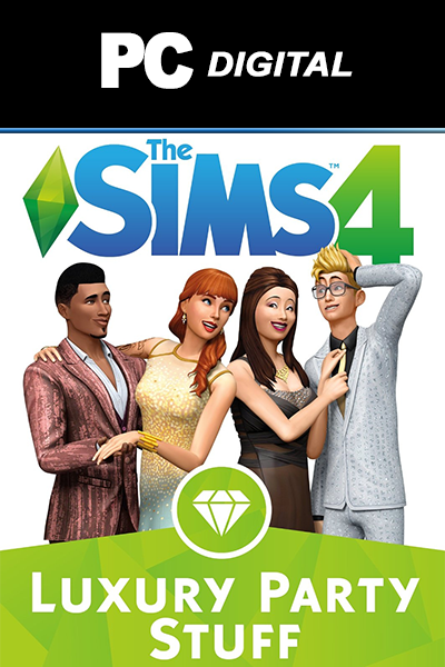 The Sims 4: Luxury Party Stuff PC DLC EA