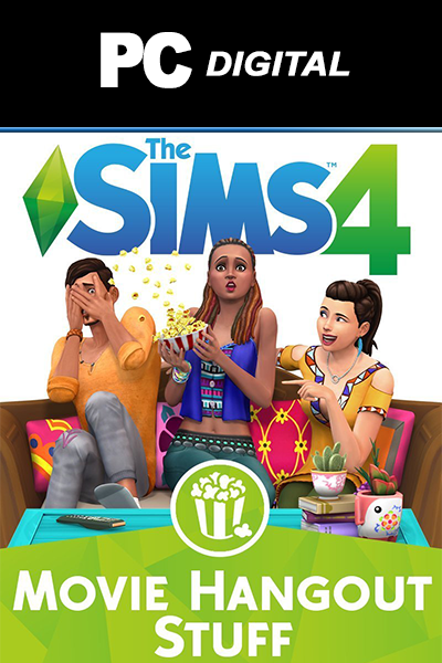 The Sims 4: Movie Hangout PC DLC EA