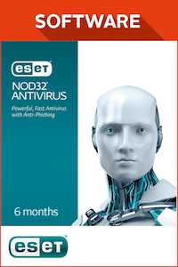 ESET NOD32 Anti Virus 6 Month