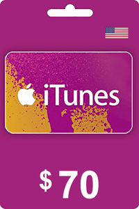 iTunes Gift Card 70 USD