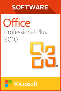 Microsoft Office Pro Plus 2010 - 1 user
