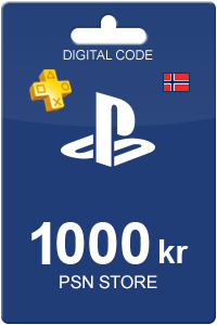 Playstation Network Card 1000 kr