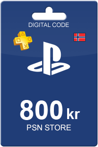 Playstation Network Card 800 kr