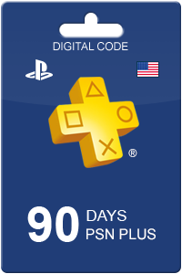 PlayStation Plus 90 dager USA