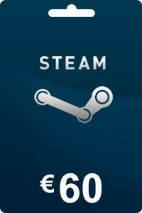 Steam Gift Card 60 EUR