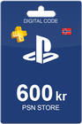 Playstation Network Card 600 kr