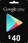 Google Play Gift Card 40 USD