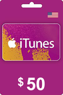 iTunes Gift Card 50 USD
