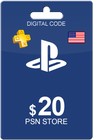 Playstation Network Card 20 USD