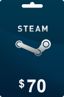 Steam Gift Card 70 USD